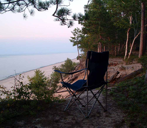 Paradise At 12 Mile Beach Campground Mi August